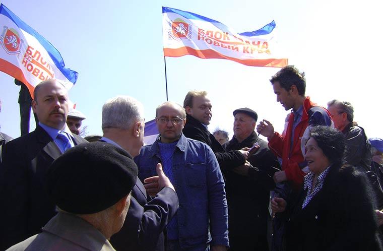 Леонид Грач беседует с Александром Коробейниковым об итогах Всекрымского вече